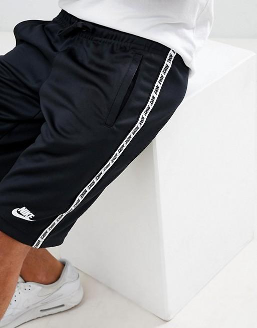 mit Schwarze Nike schwarz 010 Zierband Shorts AR4913 cTPFBSP