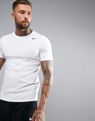 Nike Training Dry 2.0 T-Shirt In White 706625-100