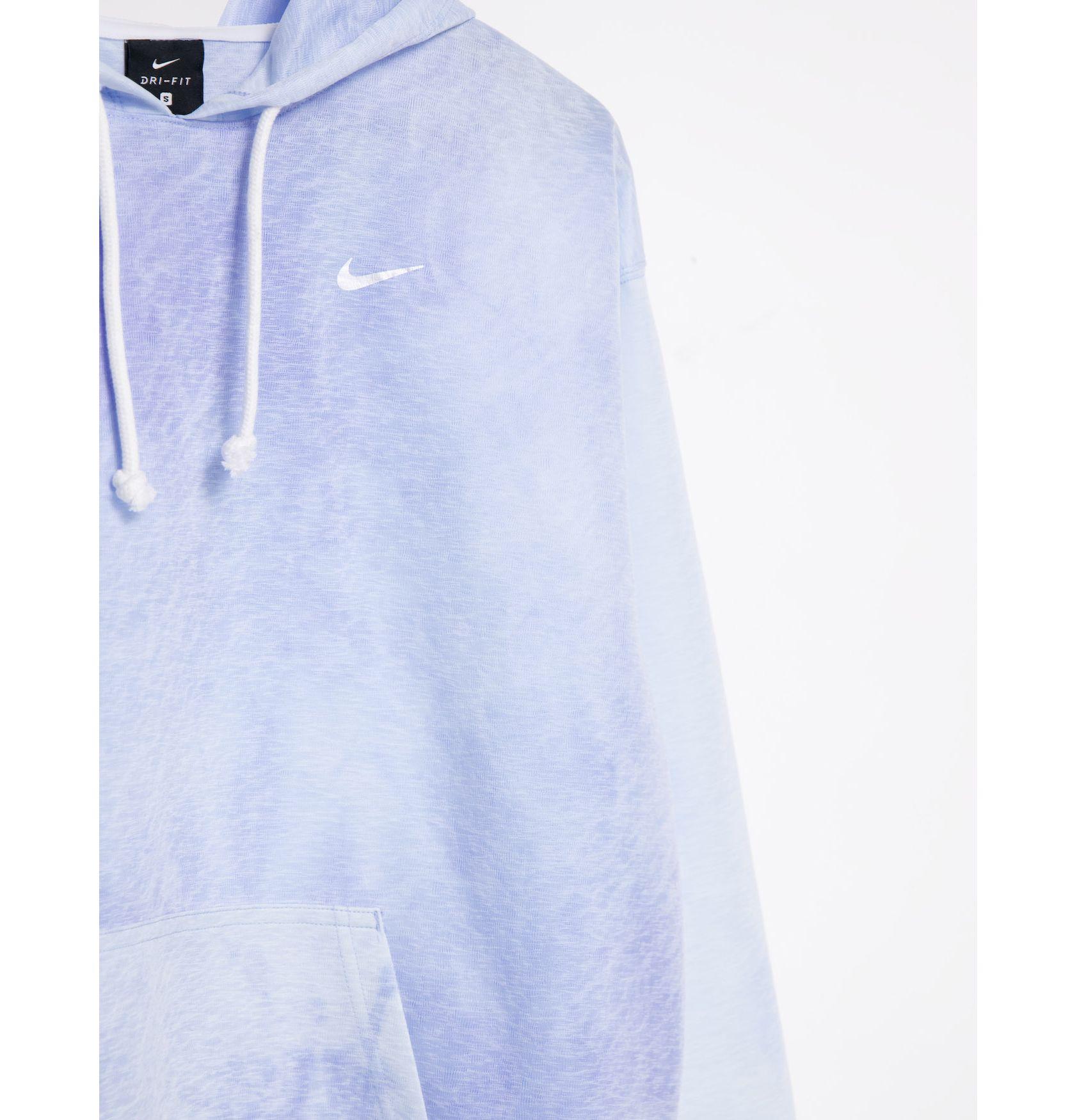 Nike Training Icon Clash tie dye hoodie in blue -  Price Checker
