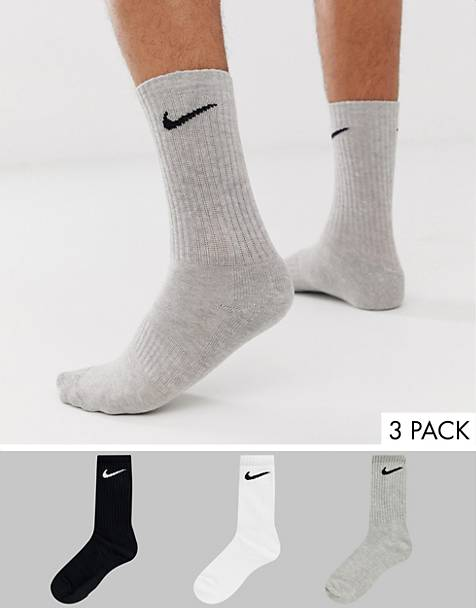 Nike Training - Lot de 3 paires de chaussettes - Multicolore