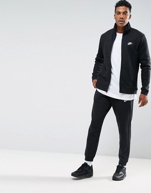in Trainingsanzug schwarz Nike aus 86177610 Schwarz Fleece Set wpxA44qH