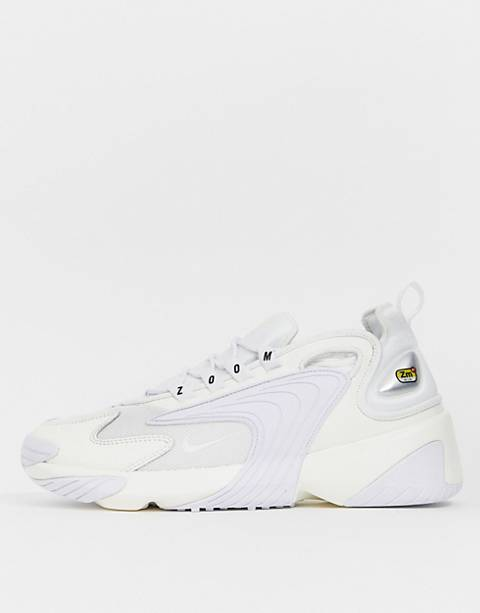 Nike - Zoom 2K - Baskets - Blanc triple