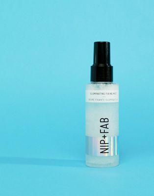 NIP+FAB - Brume fixatrice illuminatrice pour maquillage