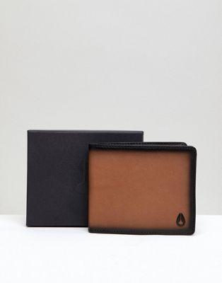 Nixon Satellite Wallet in Leather