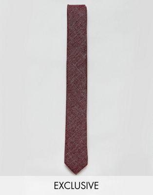 Noak - Cravate texturée à carreaux