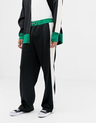 Noak - Pantaloni comodi in tricot di poliestere