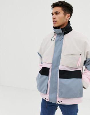 Bild 1 av Noak – Pastellfärgad vadderad jacka med flera fickor