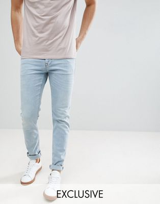 Noak Skinny Jeans In Light Blue Wash