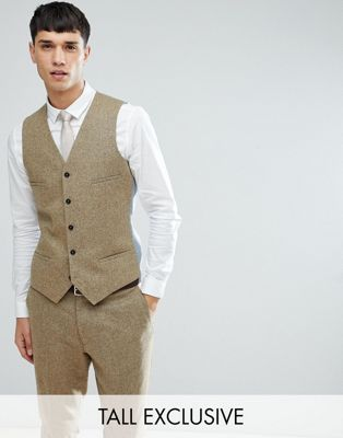 Image 1 of Noak TALL Skinny Vest In Fleck