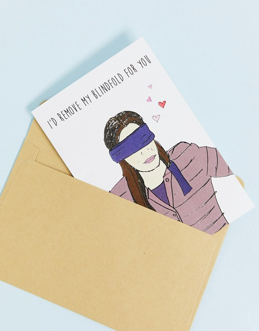 Bild 1 von Nocturnal Paper – Remove my blindfold for you – Grußkarte