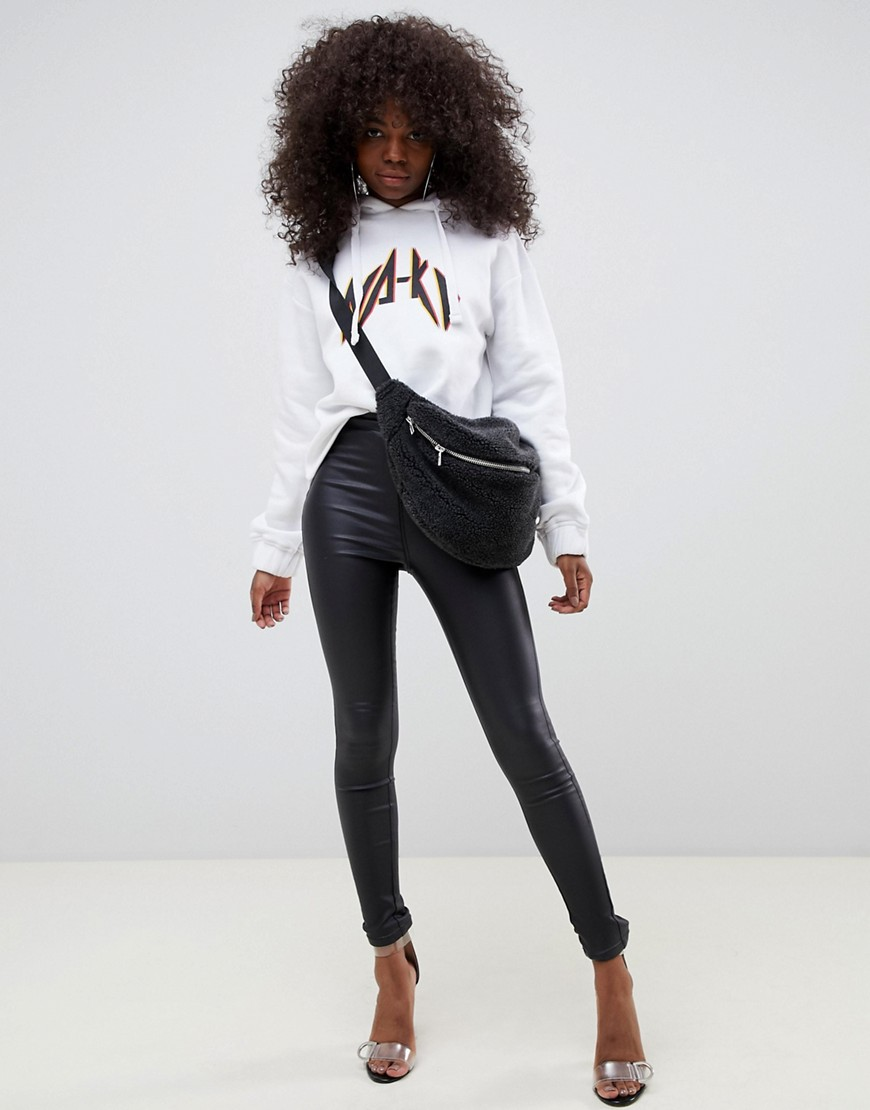 Noisy May Petite Coated Skinny Jeans by Noisy May Petite