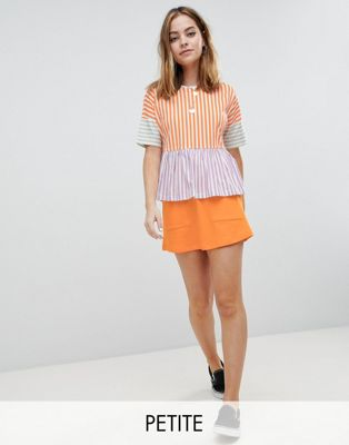 Noisy May Petite Mini Skirt With Pockets