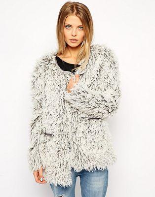 Noisy May Very Fluffy Jacket