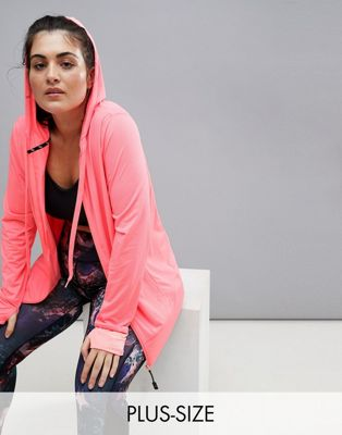 Nola Jacquard Hooded Jacket In Pink