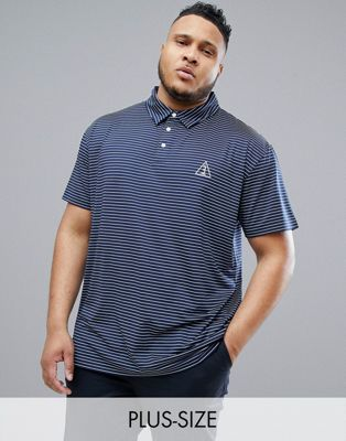 Image 1 of North 56.4 SPORT Polo With Cool Effect and Stripe