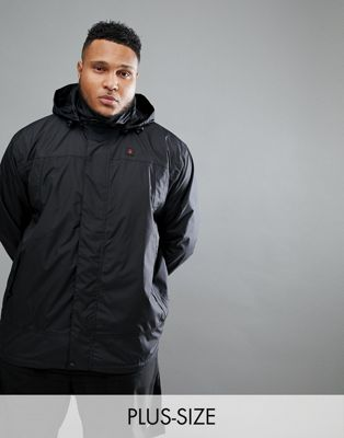 North 56.4 SPORT Water Proof Jacket In Black With Hood