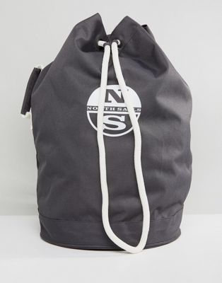 North Sails Duffle Bag in Dark Grey