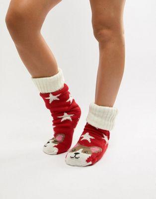 Носки-слиперы на флисовой подкладке Sock Shop