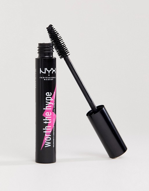 NYX Professional Makeup - Pogrubiająca maskara Worth The Hype