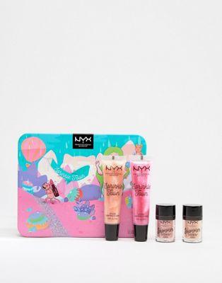 NYX Professional Makeup – Sprinkle Town Shimmer – Ögon- och läppset