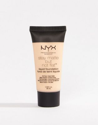 NYX Professional Makeup Stay Matte But Not Flat Liquid Foundation