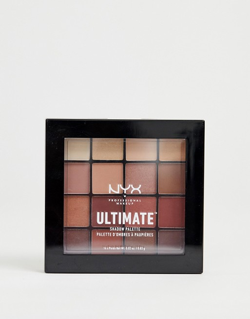 Immagine 1 di NYX Professional Makeup - Ultimate - Palette di ombretti - Warm Neutrals