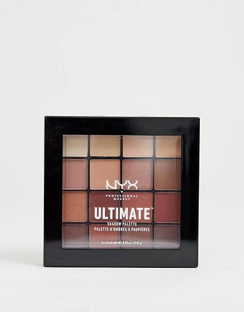 NYX Professional Makeup - Ultimate - Palette di ombretti - Warm Neutrals