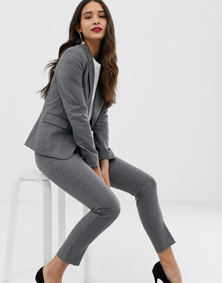 Oasis Blazer In Grey by Oasis