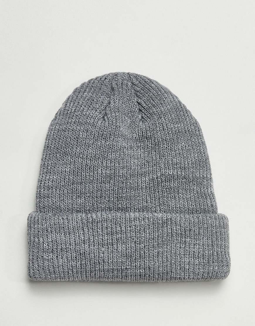 Obey Ruger 89 Beanie In Grey by Obey