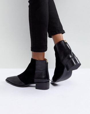 Office - Amplify - Bottines pointues en cuir