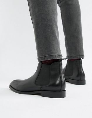 Office Imbark chelsea boots in black leather