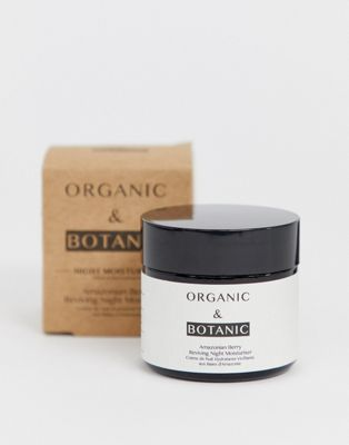 Ogranic & Botanic Amazonian Berry Reviving Night Moisturiser 50ml