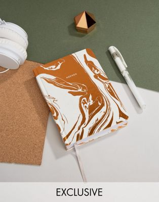Image 1 of Ohh Deer Copper Marble Agenda