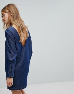 Image 1 of Only denim mini dress
