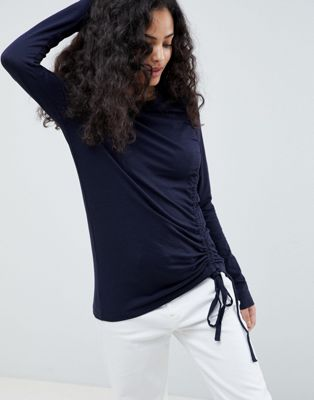 Image 1 of Only Drawstring Long Sleeved Top