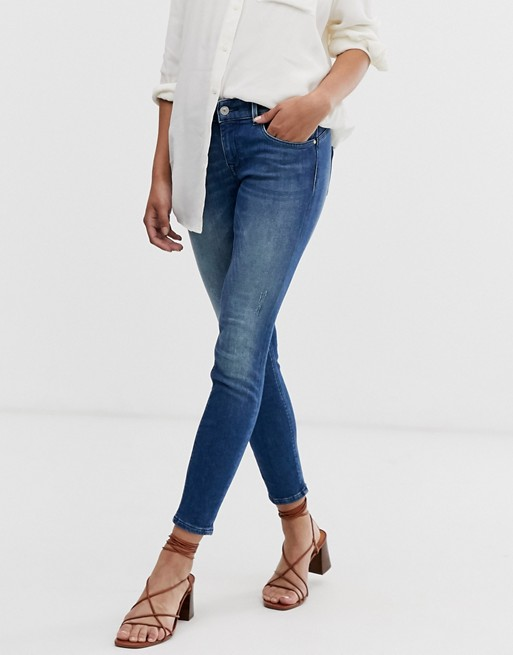 Only Dylan low rise skinny jeans