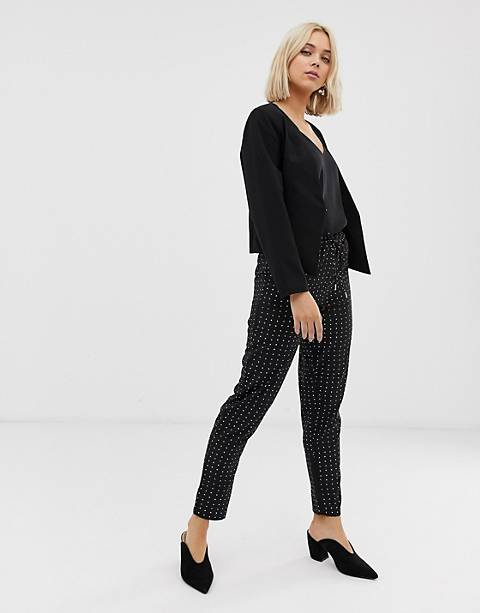 Only Michelle polka dot pants
