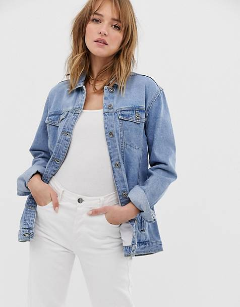 d2bfb8e44e6 Only oversized denim jacket