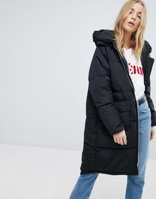 Only Oversized Padded Duvet Coat