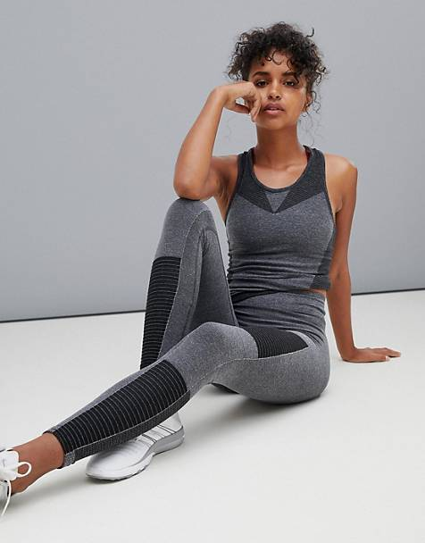 Only Play paneled seamless leggings