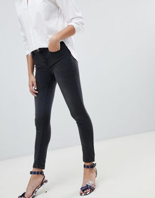 Image 1 of Only push up effect skinny jean in gray