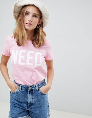 Only - Riva T-shirt met need-print