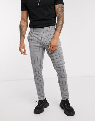 Shelby & Sons slim suit trousers in navy - ASOS Price Checker