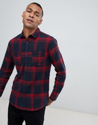 Image 1 of Only & Sons Checked Shirt