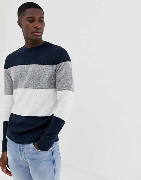 Only & Sons – Randig stickad tröja