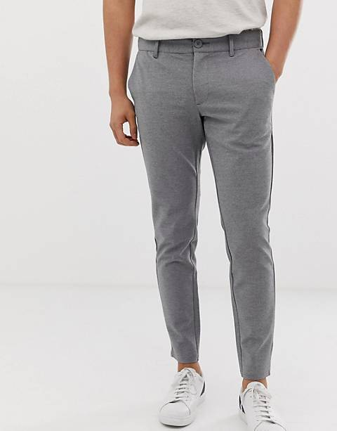 Only & sons slim fit smart pants