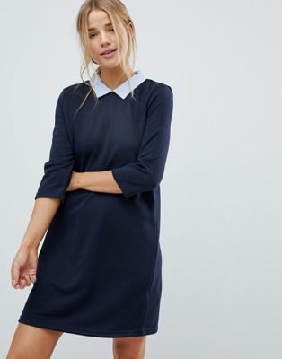 Only Sunny Collared Shift Dress