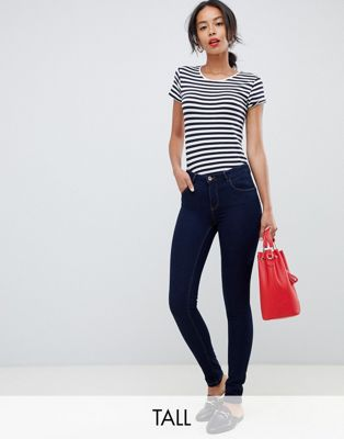Only Tall skinny leg push up effect jean