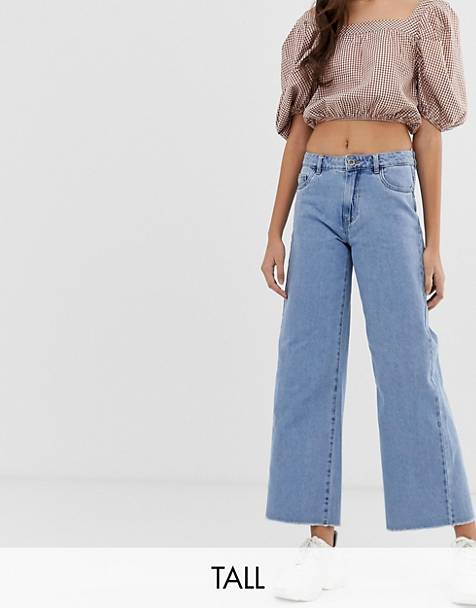 Only Tall wide leg jeans