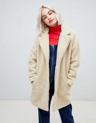 Image 1 of Only teddy oversized coat